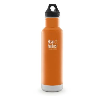 美國Klean Kanteen經典保溫瓶592ml-峽谷橘