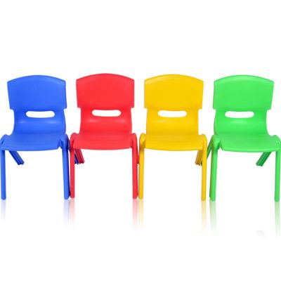 韓式多彩可堆疊便利椅(一體成型)(四椅)