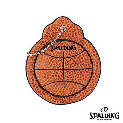 SPALDING 斯伯丁 籃球皮 鑰匙掛環 KEY CHAIN 鑰匙圈 吊飾
