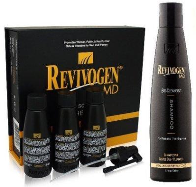 【董哥的家】Revivogen 立髮健鋸棕櫚高效養髮液MD版+1瓶BIO賦活洗髮乳 二合一組合