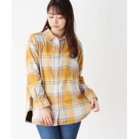 SHOO・LA・RUE/Mrs.(シューラルー/ミセス) ネルチェックルーズフィットシャツ
