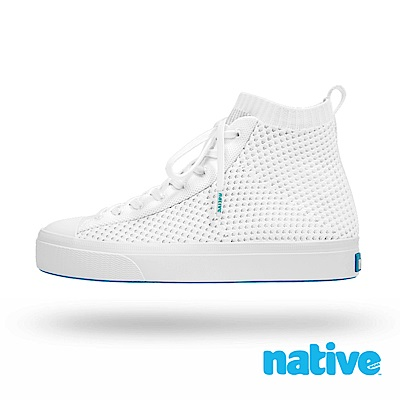 native JEFFERSON 2.0 高筒男/女鞋-潔淨白