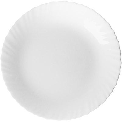EXCELSA Wave白瓷淺餐盤(25cm)