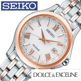 SEIKO 腕時計 セイコー 時計 ドルチェ アンド エクセリーヌ Dolce and Exceline レディース シルバー SWCW162