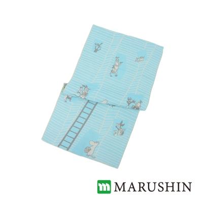 日本丸真 Moomin 嚕嚕米今治三層紗臉巾/毛巾-我的家