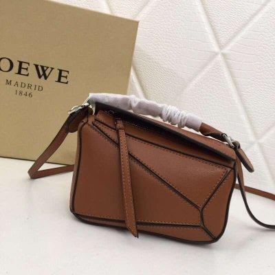 Loewe Mini Puzzle Bag 手提包 單肩包 斜挎包 精品包 通勤包 休閒包 多色 禮物交換 包包 小包