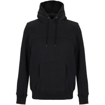 《セール開催中》2F1L メンズ スウェットシャツ ブラック S コットン 100%