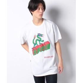 ワンデイケイエムシー DELUSION LAND / DRAGON TEE メンズ ホワイト F 【ONEDAY KMC】