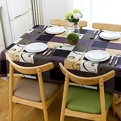媽媽咪呀 複合材質防水防油汙餐桌墊/野餐墊-華麗年代137*137cm