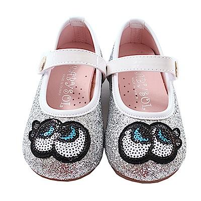 魔法Baby 女童 台灣製手工娃娃鞋 sk0554