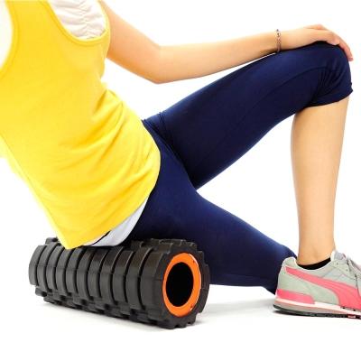 2in1中空瑜珈滾輪+瑜珈柱-急速配