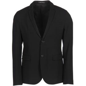 《期間限定 セール開催中》EMPORIO ARMANI メンズ テーラードジャケット ブラック 48 バージンウール 98% / ポリウレタン 2%