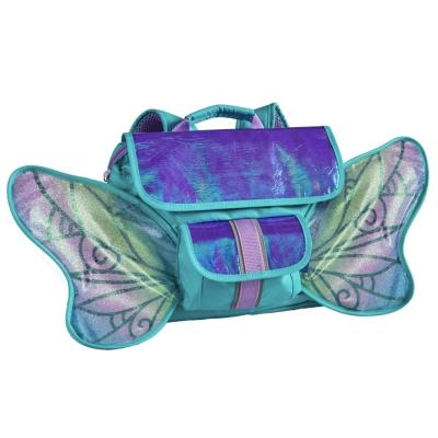 美國Bixbee 飛飛童趣LED系列 冰雪蝴蝶仙子小童背包