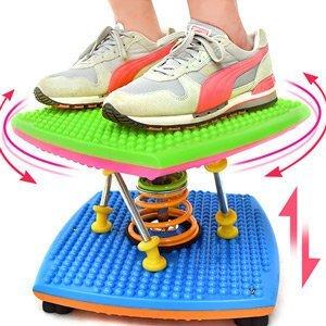炫彩雙彈簧扭腰跳舞機結合跳繩扭腰盤呼拉圈跳舞踏步機美腿機跳跳樂扭扭盤扭腰機運動健身器材哪裡買C188-85A【推薦+】