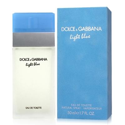 D&G LIGHT BLUE 淺藍女性淡香水50ml