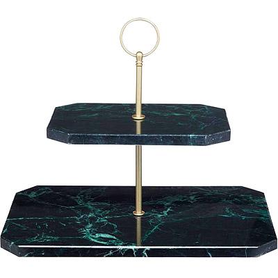 Master 雙層大理石點心盤(30cm)