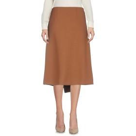 《セール開催中》GOTHA レディース 7分丈スカート キャメル 0 ポリエステル 64% / レーヨン 32% / ポリウレタン 4%