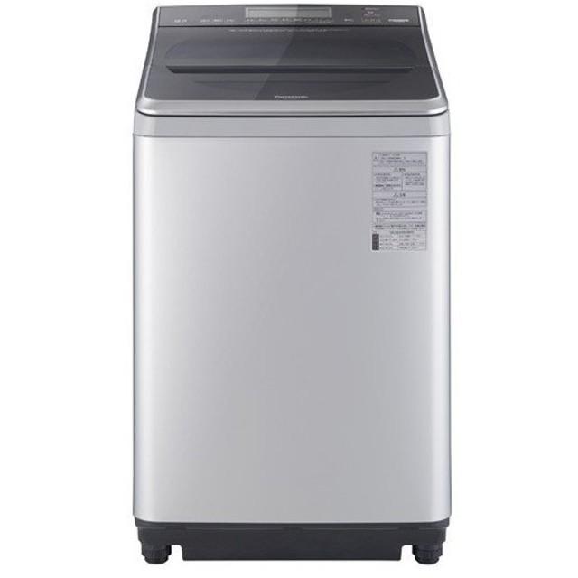 パナソニック Panasonic 全自動洗濯機 洗濯12kg 上開き シルバー NA-FA120V1-S 配達日指定不可サイズ