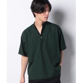 【50%OFF】 コエ ブロードプルオーバーシャツ メンズ グリーン S 【koe】 【セール開催中】