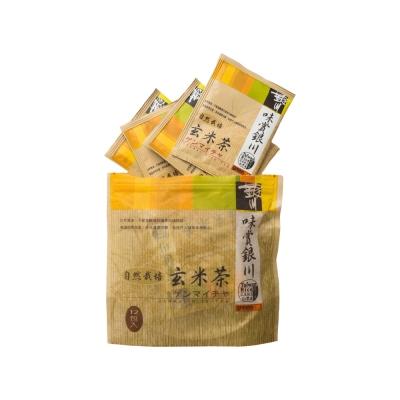 味賞銀川 自然栽培玄米茶(3.5gx12入)