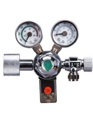 小郭水族-ISTA-伊士達- 免運費【I-642 CO2 雙錶 電磁閥(側接型) 】搭配 鋼瓶 鋁瓶