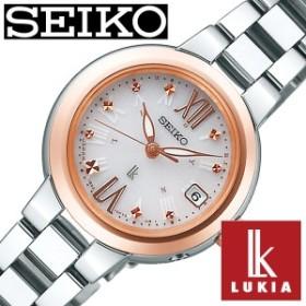 セイコー腕時計 SEIKO時計 SEIKO 腕時計 セイコー 時計 ルキア LUKIA レディース ホワイト SSVW138