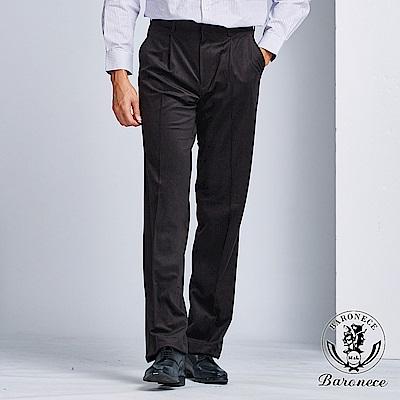 BARONEC低調格紋老爺西褲(104122-35)