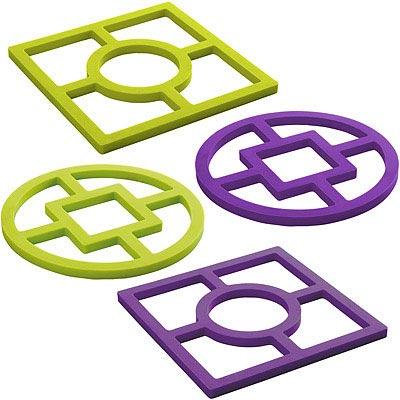 IBILI Eco幾何矽膠隔熱墊