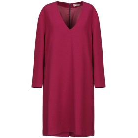 《セール開催中》BLANCA レディース ミニワンピース&ドレス ガーネット 40 ポリエステル 63% / レーヨン 33% / ポリウレタン 4%