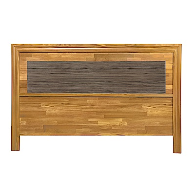 AS-普萊斯考特5尺集成木床頭片-154x2x93cm