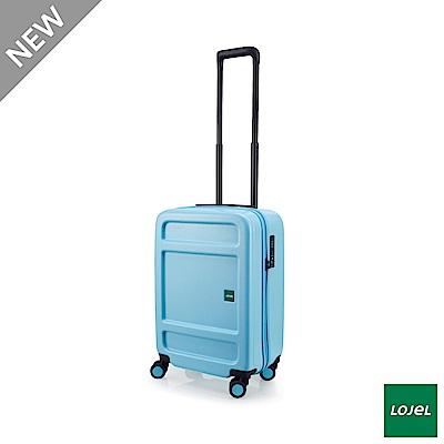 LOJEL JUNA 防盜拉鍊箱 37分箱體 旅行箱 21吋 粉藍色 CF1639