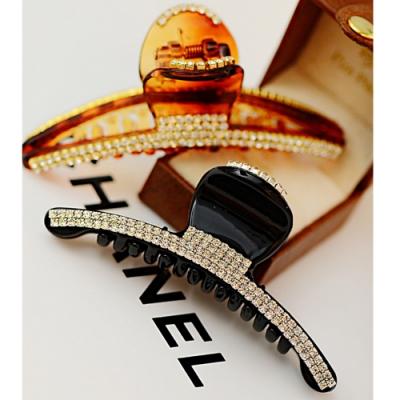 Hera 赫拉 韓版精緻大方鑲鑽抓夾/髮夾-2色