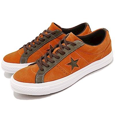 品牌: CONVERSE型號: 161617C品名: One Star配色: 橘色 綠色特點: 基本款 麂皮 一顆星 穿搭 舒適 橘 綠