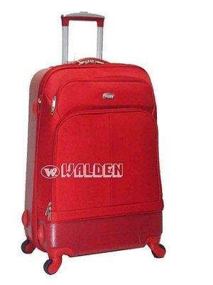 【 補貨中缺貨葳爾登】法國傑尼羅特四輪25吋登機箱360度旅行箱ABS+EVA行李箱最新款式25吋8243紅色