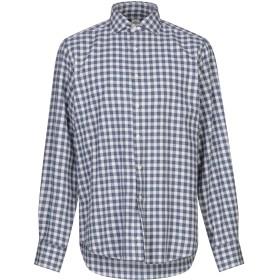 《セール開催中》GMF 965 メンズ シャツ ブルー 40 コットン 100%