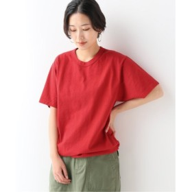(JOURNAL STANDARD/ジャーナルスタンダード)【LA APPAREL/ロサンゼルスアパレル】8.5oz ShortSleeve Binding GDT:Tシャツ/レディース レッド