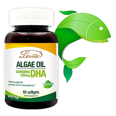 Lovita 愛維他 植物性DHA藻油 200mg 60顆
