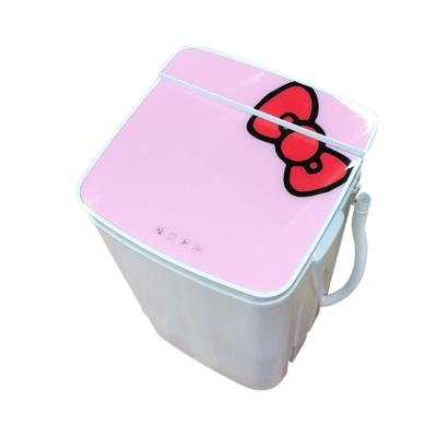 EDISON愛迪生 5.8KG 定頻直立式洗衣機 粉紅 E0001-A58Z