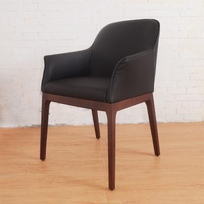 Boden-德爾實木餐椅/單椅-55x51x85cm