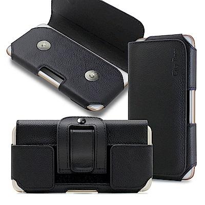 CB 舒適頂級 FOR  Nokia 7 plus /OPPO R15 真皮腰掛皮套