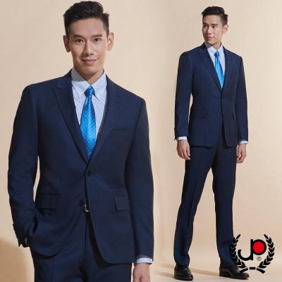 極品西服 細緻100%羊毛小劍領西裝外套_丈青(AW610-3G)
