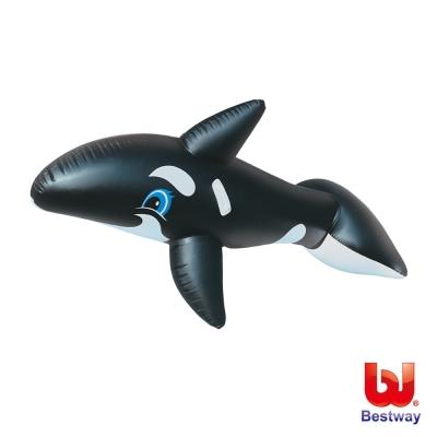 Bestway。80X40吋大型充氣鯨魚坐騎41009-快速到貨