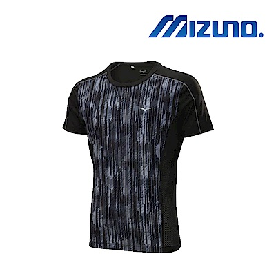 MIZUNO 美津濃 男短袖緊身衣 黑 K2TA800109