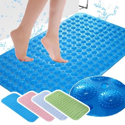 日創優品 無味吸盤浴室防滑地墊/踏墊(4片入)