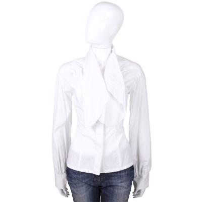 KENZO-antonio marras 白色造型領片長袖襯衫