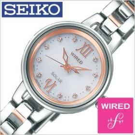セイコー腕時計 SEIKO時計 SEIKO 腕時計 セイコー 時計 ワイアード エフ WIRED f レディース ホワイト AGED091
