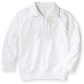 吸汗速乾。抗菌防臭。UVカット。衿付。長袖 体操服シャツ 体操服