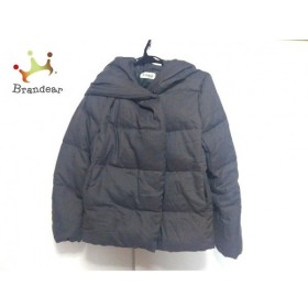 プラステ PLS+T(PLST) ダウンジャケット サイズM レディース 美品 グレー 冬物 新着 20190618
