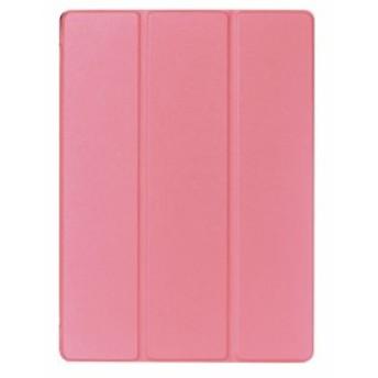 半額セール 50%off iPad Pro 12.9 レザーケース ピンク 液晶保護フィルム付き スマホケース アイパッドプロ12.9 iPad Pro 12.9 ケース