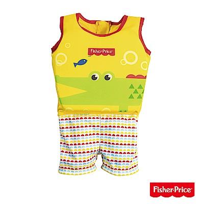 Fisher-Price 男款幼兒浮力連身泳衣 93524